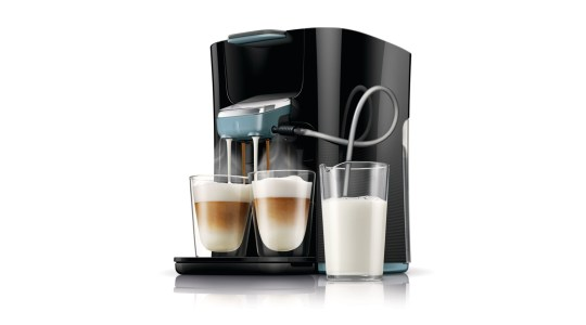 Im Detail: Philips Senseo HD 7855/60 Latte Duo Kaffeepadmaschine